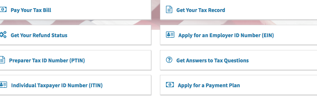 Make Taxes Easy with IRS.gov Tools and Resources